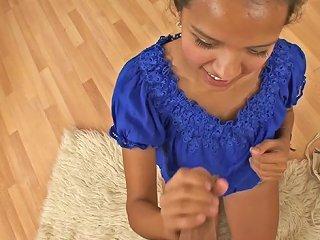 BravoTeens Video - Naughty Latina Teen Jessica Albarez Pleasing A Dick In Pov Blowjob Vid